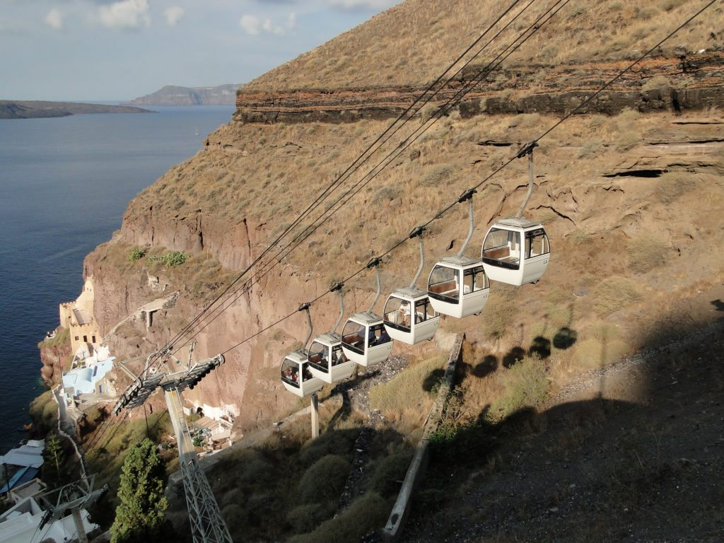 Santorini Cable Cars